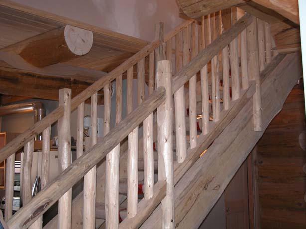 Recessed Deck Stairs